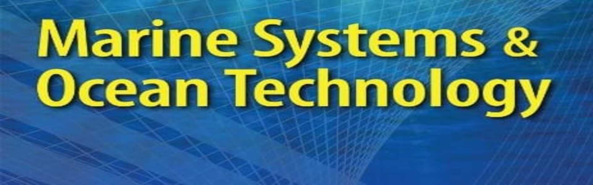 MSOT - Marine Systems & Ocean Technology